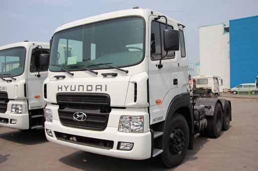 Đầu kéo hyundai giảm giá đầu năm 2016