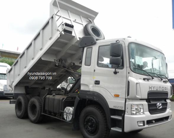 Xe ben 15 tấn Hyundai Thành Công lắp ráp