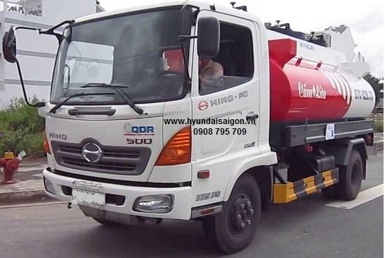 Xe bồn 12 khối Hino FG 9 tấn