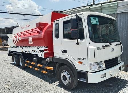 Xe bồn 20 khối Hyundai HD240