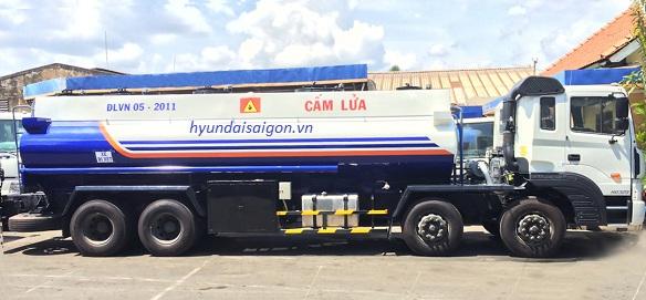 Xe bồn 22000 lít Hyundai
