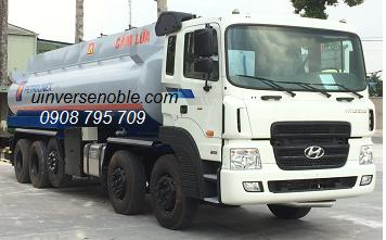 Xe bồn chở ga 31.7 khối Hyundai 5 chân HD360