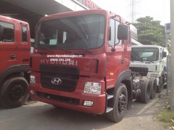 Xe đầu kéo Hyundai Thành Công lắp ráp