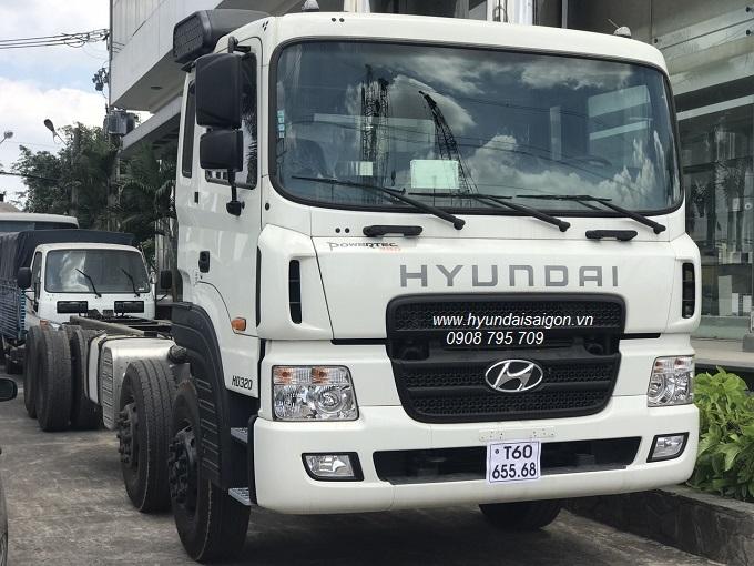 Xe Tải 4 chân Hyundai Thành Công HD320 nhập khẩu 2020