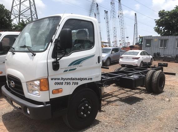 Xe Tải 7 tấn 110s New Mighty Hyundai Thành Công lắp...