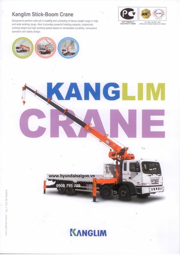 Xe tải cẩu Kanglim
