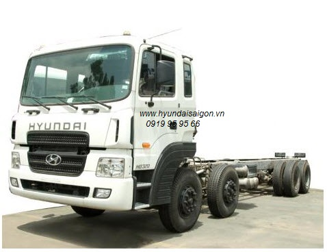 Xe tải Hyundai 4 chân HD320