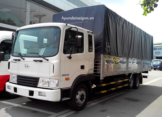 Xe tải Hyundai HD 210  13,5 tấn thùng mui bạt